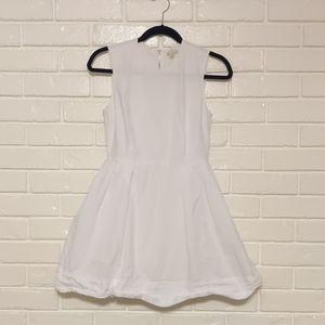 Gap white shift dress